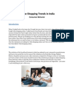 Online Shopping Trends in India