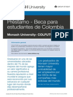 Spanish Scholarship Loans for Colombia