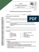 Praxis 32 Reconocimiento de Grupo Funcional Aldehido