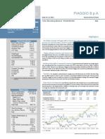 Report Piaggio RC2011