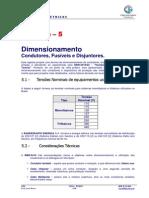 Dimensionamento Condutores CEL