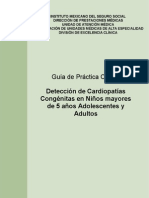 Detección de Cardiopatías Congénitas en mayores de 5 años