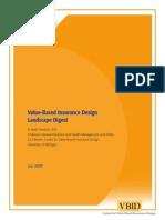 Value-Based Insurance Design Landscape Digest