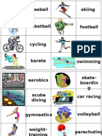 Lesson 1 Memory Game Sports