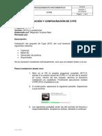 PI-018 Instalación de Cype 2013 13-12-2012
