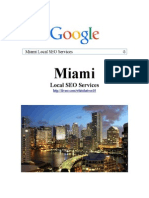 Miami Local SEO Services