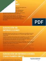 ELEVACIÓN EN INTERSECCIONES