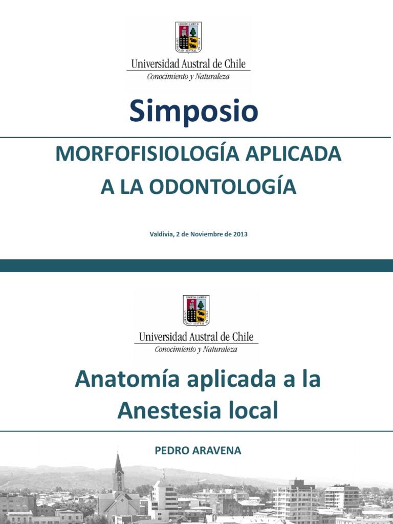 Anatomia aplicada anestesia local Chile   Dentistry   Mouth
