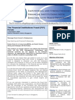 The Financial Institutions Fraud (FIF) Forum