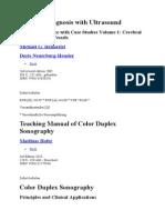 Color Duplex Sonography