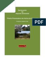 Planta de Produccion de Harina de Pescado