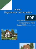 Proiect Higrotermica Si Acustica