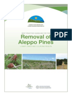 + Miles, 2009, Aleppo Pine Removal Guidelines