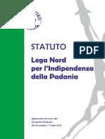 Statuto 2012 lega