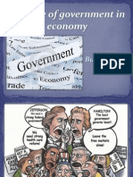 the role of government in economy