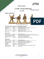 German Afrikakorps Ww 2
