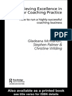 Achieving Excellence in Your Caoching Practice