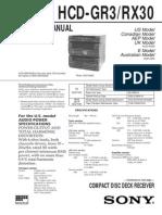 HCD-GR3RX30