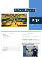 The Table Tennis Playbook - Ben Larcombe (Experttabletennis)