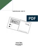 Manual Auraton 2005 En