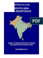 South Asia on Shortwave