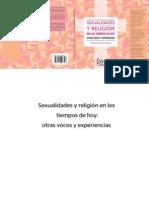 SEXUALIDADES Y RELIGIÓN EN LOS TIEMPOS DE HOY. OTRAS VOCES Y EXPERIENCIAS
