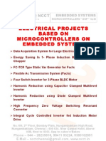 Ncct - Electrical Power Electronics 2008 - 09 Complete Project List