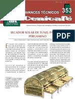 Secador Solar de Tunel Para Cafe