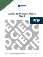 análisis de pruebas de presión-cied pdvsa