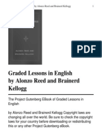 Copy of Graded Lessons in English