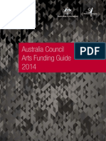 Australia Council for the Arts Funding Guide 2014