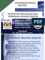 Profesion Keguruan Dalam Pembinaan Negara Bangsa
