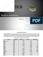 Análisis estadístico 2