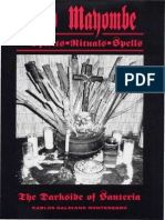 Galdiano Montenegro, Carlos - Palo Mayombe; Spirits, Rituals, Spells(1994)