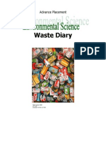waste diary