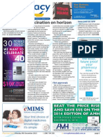 Pharmacy Daily for Mon 09 Dec 2013 - Vaccination on the horizon, Advanced practice progress, Board conduct alert, Weekly Comment and much more