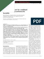 Medical Treatment for Combined Fusarium and Acanthamoeba Keratitis.