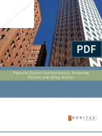 Probitas Private Equity Survey Trends2014