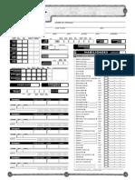 D&D 3.5 - Hoja de Personaje