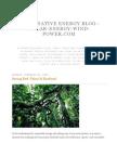 Alternative Energy Blog