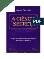 A Ciencia Secreta Vol i Henri Durville