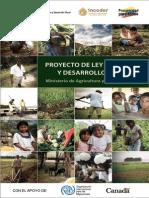 Proyecto Ley Tierras Desarrollo Rural