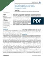 Adipokinas y Lesion CV