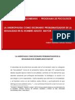LA ANDROPAUSIA COMO ESCENARIO PROBLEMATIZADOR DE LA SEXUALIDAD EN EL HOMBRE ADULTO MAYOR