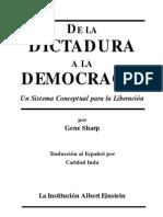 De La Dictadura a La Democracia Gene Sharp (1)