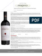 2009 Sandalford Prendiville Reserve_ Cabernet Sauvignon, Tasting Note