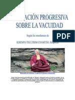 Meditacion Sobre La Vacuidad Khenpo Tsultrim Gyamtso