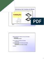 2010-2 - Aula 3 - Fundicao - Refratarios-Fornos