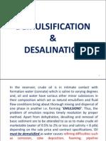 DEMULSIFICATION &DESALINATION