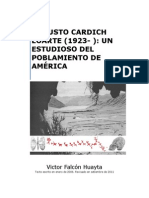 Augusto Cardich Lauricocha